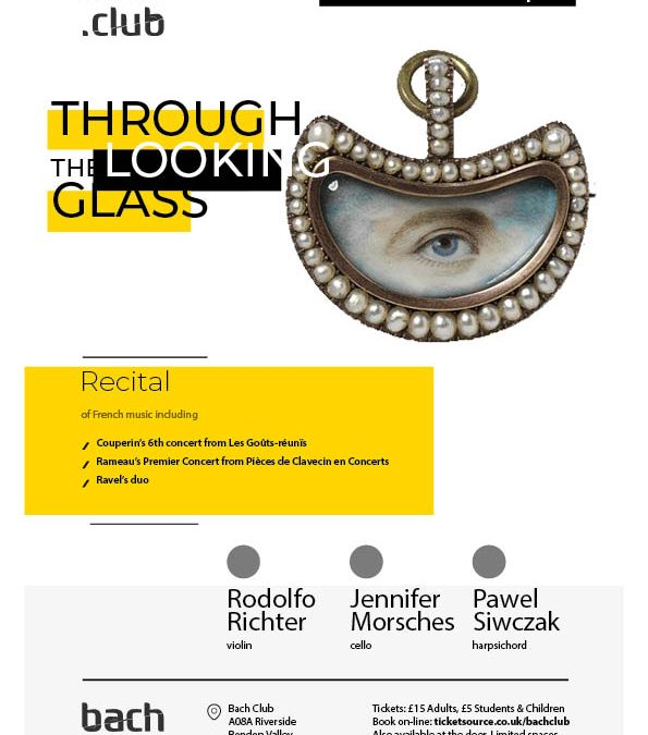 SUNDAY, 13 OCT 2020 Through the Looking Glass