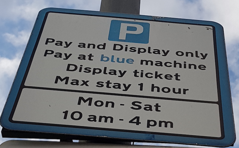 Garratt Lane Parking
